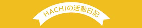 HACHIの活動日記