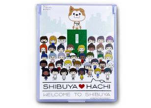 SHIBUYA♡HACHIミラー