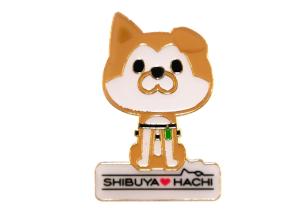 SHIBUYA♡HACHIピンバッチ
