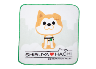 SHIBUYA♡HACHIタオルハンカチ